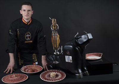 campeón corte de jamón España